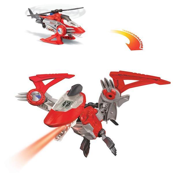 Imagen de Vehículo Switch Go Dino Pteranodon Transformable en Helicóptero