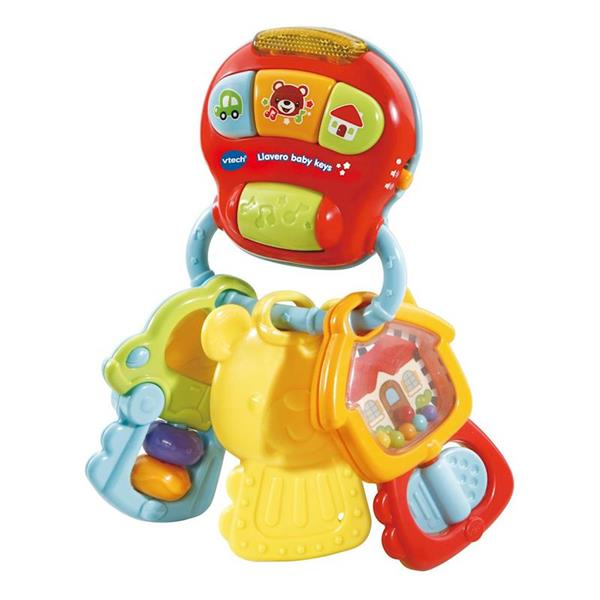 Imagen de Sonajero Llavero Baby Keys con Luz y Sonido
