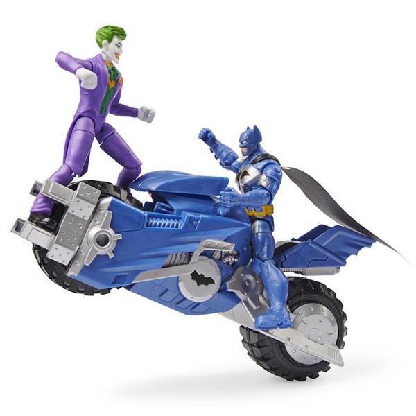 Imagen de Batmoto Batman Bat Tech Con Figuras
