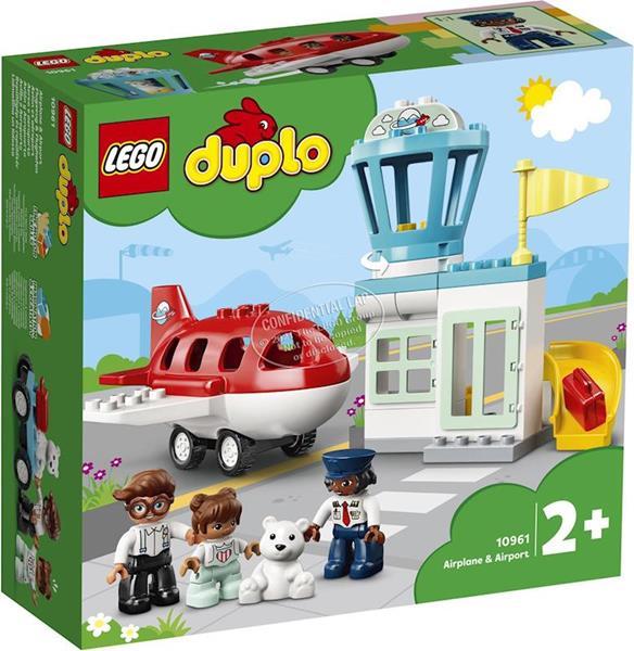 Imagen de Avion y Aeropuerto Lego Duplo