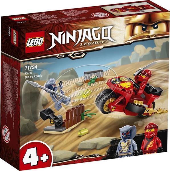 Imagen de Moto Acuchilladora de Kai Lego Ninjago