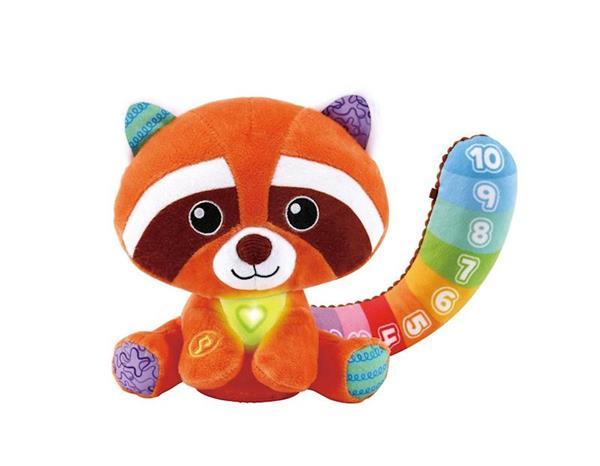 Imagen de Peluche Panda Rojo Colores Y Números