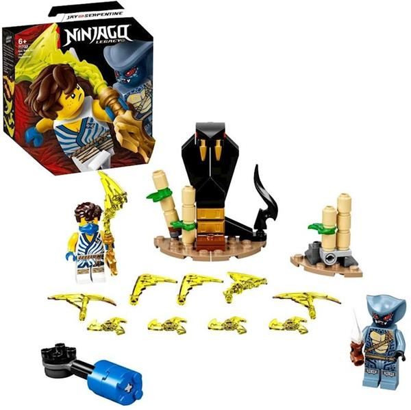 Imagen de Lego Ninjago Batalla Legendaria Jay Vs. Serpentine