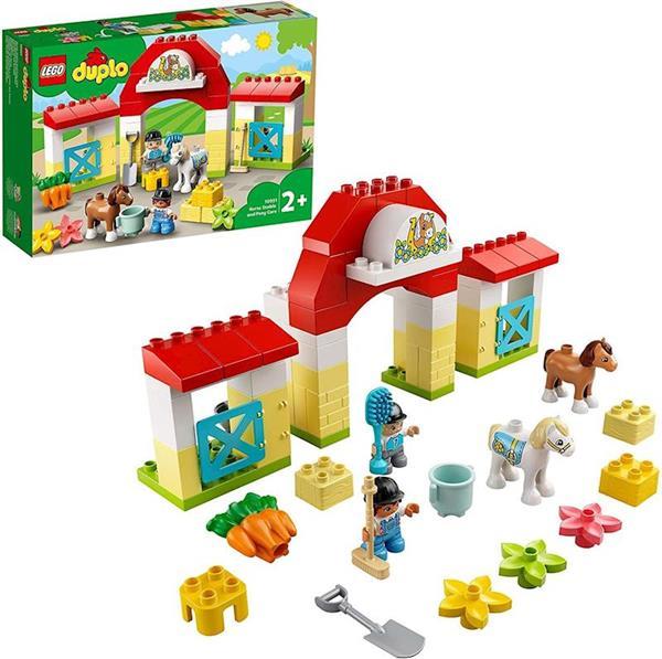 Imagen de Establo Con Ponis Lego Duplo