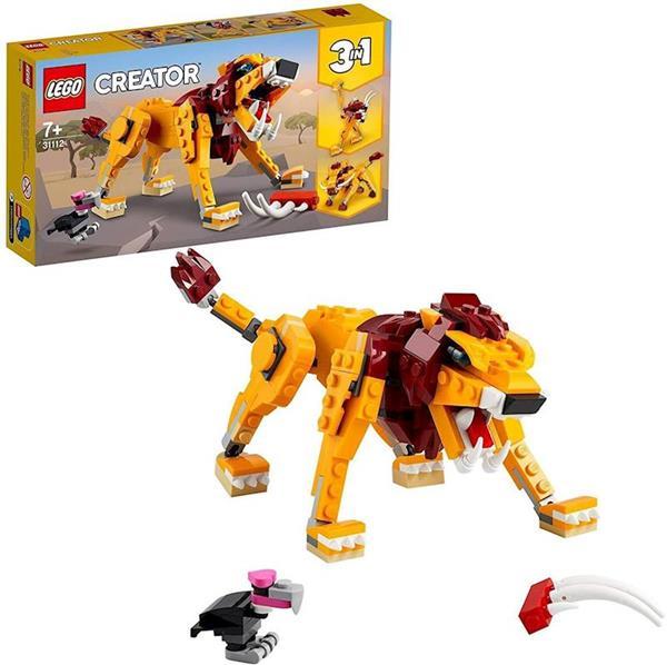 Imagen de León Salvaje Lego Creator
