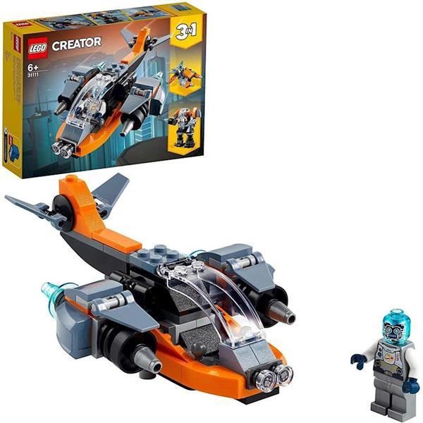 Imagen de Ciberdrón Lego Creator