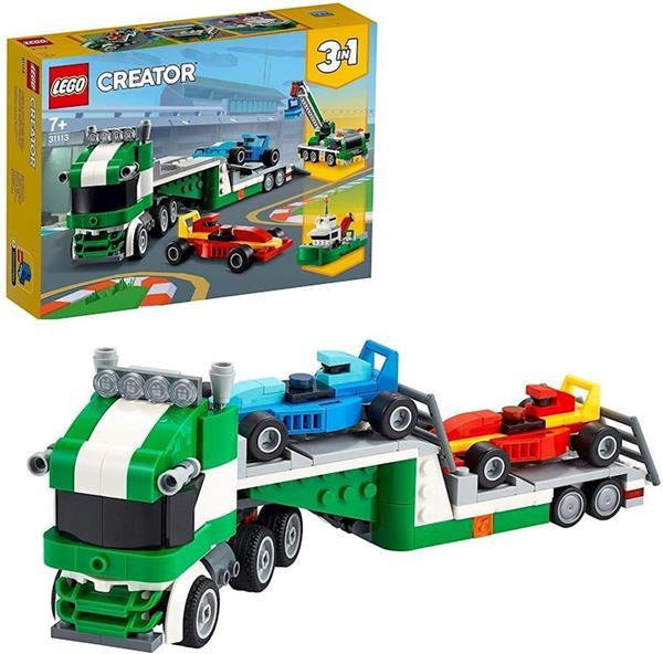 Imagen de Transporte de Coches de Carreras Lego Creator