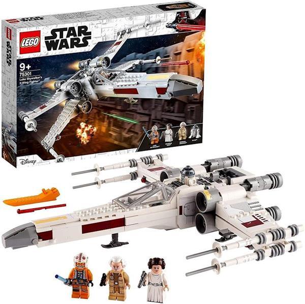 Imagen de Caza Ala-X de Luke Skywalker Lego Star Wars