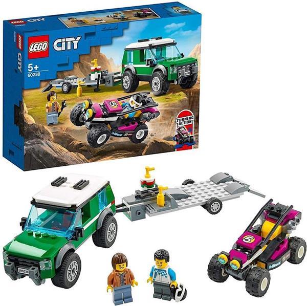 Imagen de Furgoneta de Transporte del Buggy de Carreras Lego City