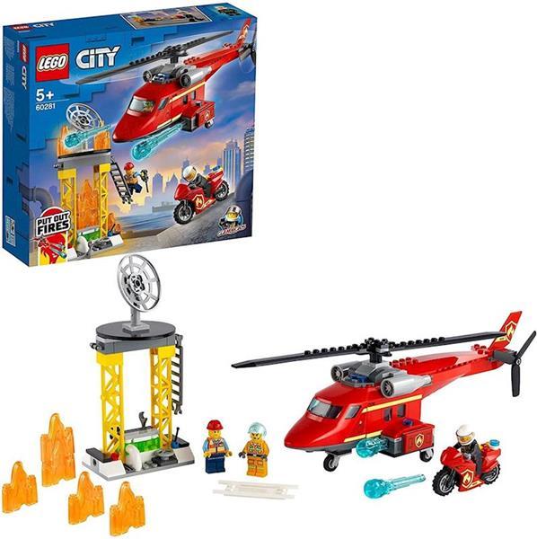 Imagen de Helicóptero de Rescate de Bomberos Lego City