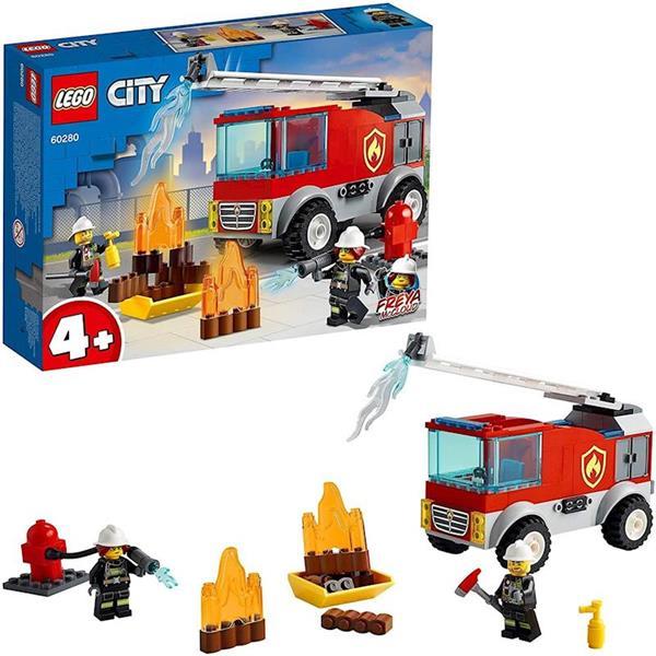 Imagen de Fire Camión de Bomberos con Escalera Lego City