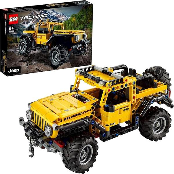 Imagen de Jeep Wrangler Lego Technic