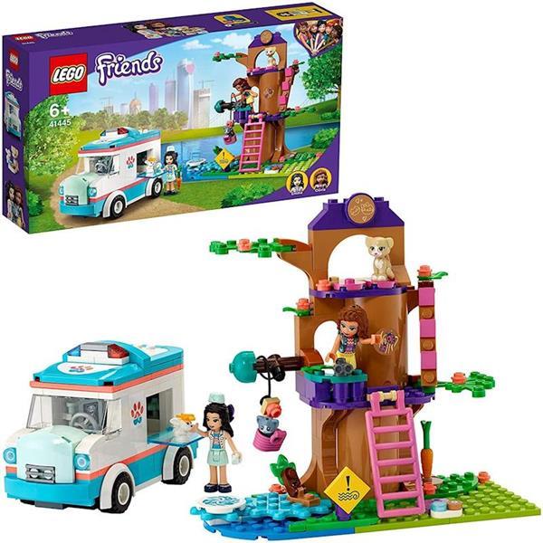 Imagen de Ambulancia De La clínica Veterinaria Lego Friends