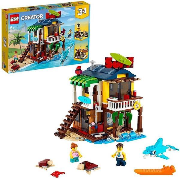 Imagen de Casa Surfera en la Playa Lego Creator
