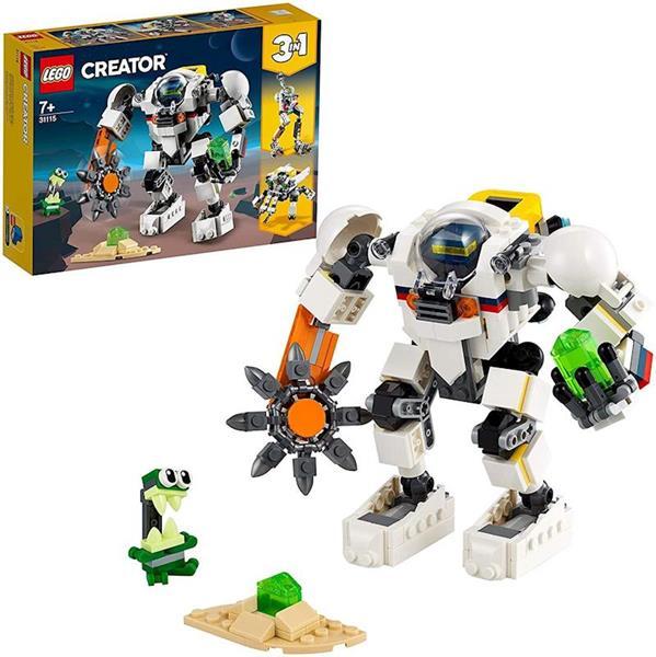 Imagen de Minero Espacial Lego Creator Meca