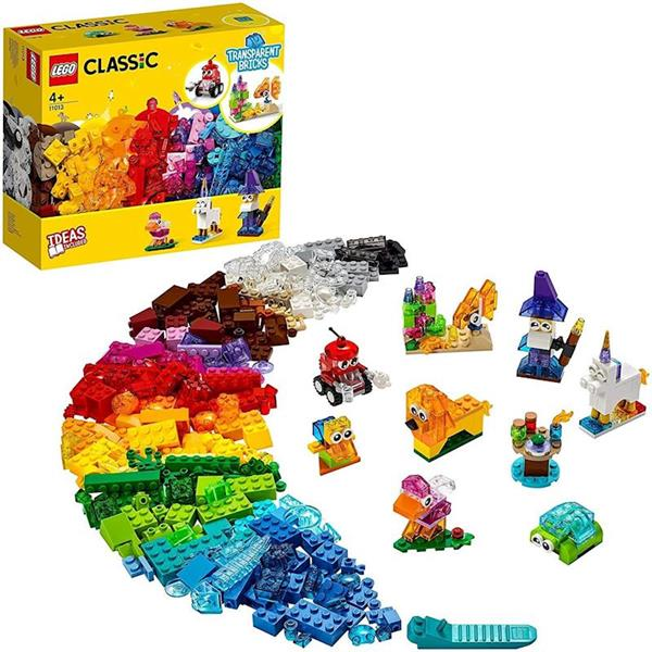 Imagen de Lego Classic Ladrillos Creativos Transparentes