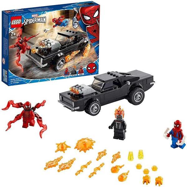 Imagen de Lego Spiderman Motorista Fantasma Y Carnage