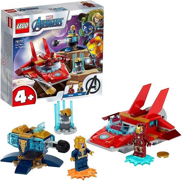 Imagen de Lego Vengadores Iron Man Contra Thanos