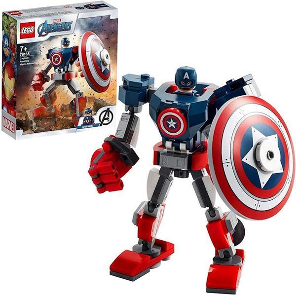 Imagen de Lego Vengadores Armadura Robótica Capitán América