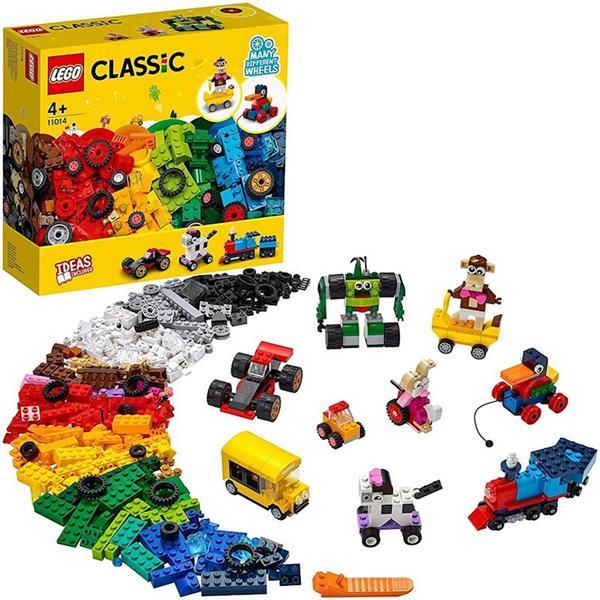 Imagen de Lego Classic Ladrillos Y Ruedas