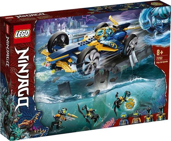 Imagen de Lego Ninjago Submarino Anfibio Ninja