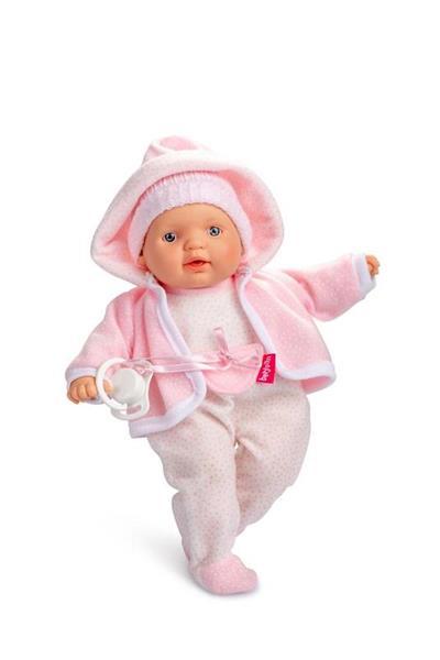 Imagen de Muñeco Bebé Lloroncete Pijama Rosa