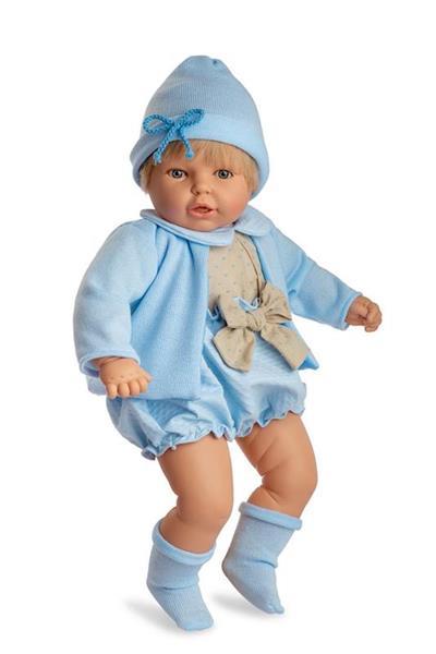 Imagen de Muñeco Mi Nene Azul 60 Cm