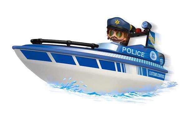 Imagen de Pinypon Action Coche y Lancha de Policía