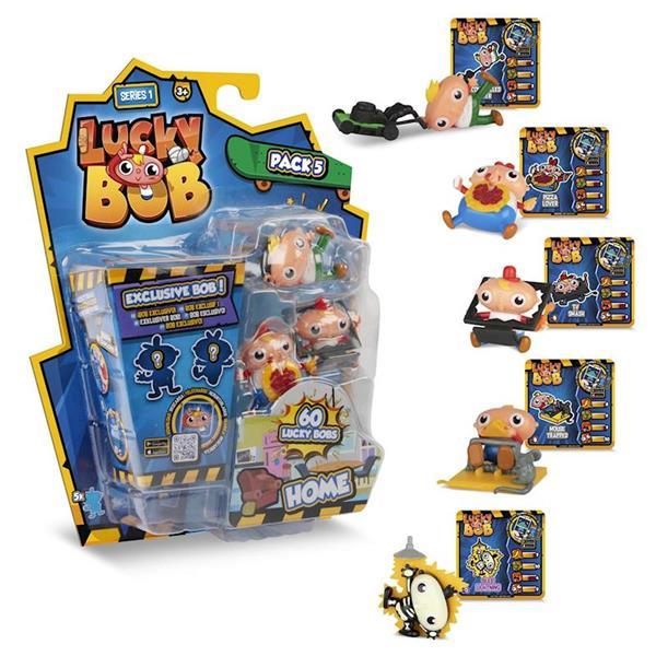 Imagen de Lucky Bob Pack 5 Figuras