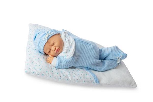 Imagen de Muñeco Baby Dormilón Azul