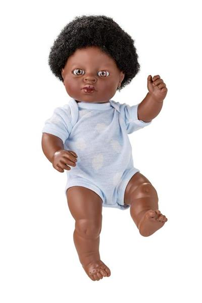 Imagen de Muñeco Africano Newborn 38 Cm