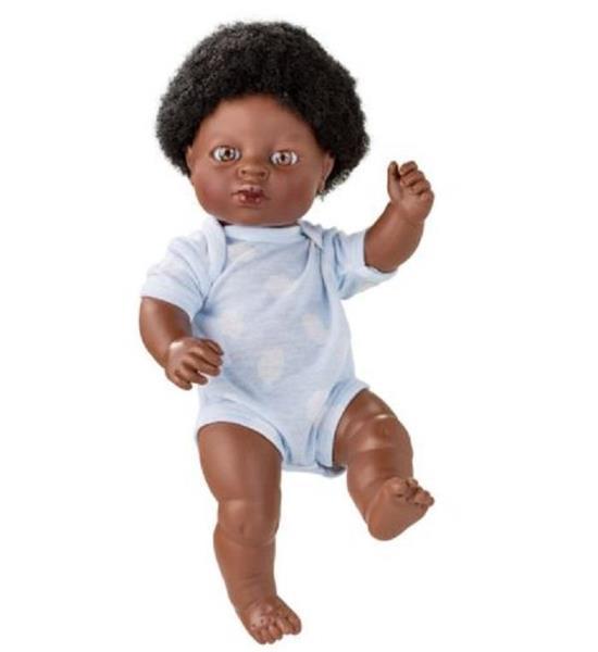 Imagen de Muñeca Africana Newborn 38 Cm