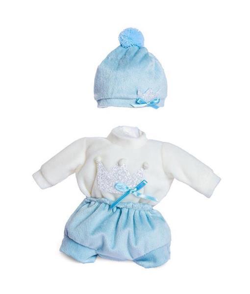 Imagen de Ropa Muñeco 28 Cm Baby Shoes Azul En Bolsa