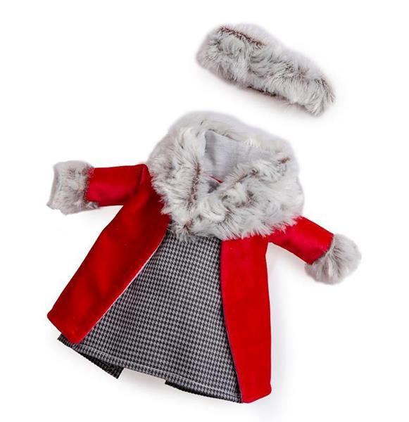 Imagen de Abrigo Rojo Muñeca Fashion En Bolsa