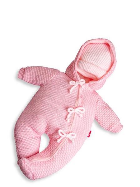 Imagen de Buzo Rosa Newborn 45 Cm En Estuche