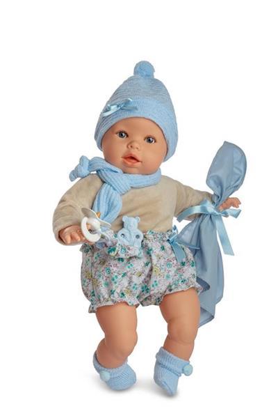 Imagen de Muñeco Baby Llorón Azul