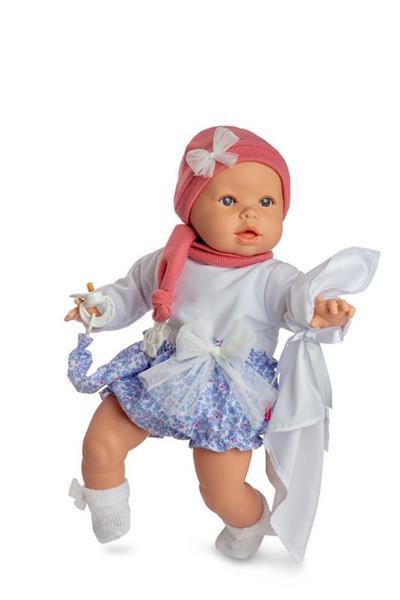 Imagen de Muñeca Baby Llorón Con Ropa Flores