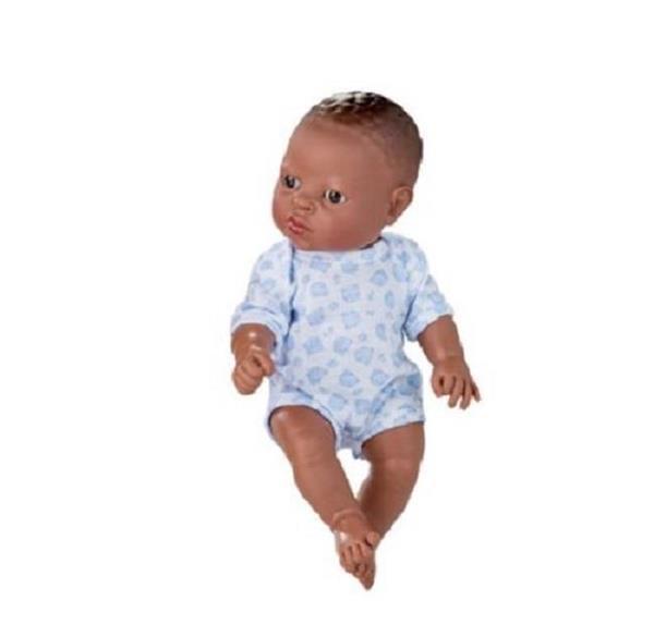 Imagen de Muñeca Africana Con Body Newborn 30 Cm