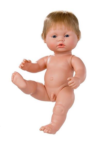 Imagen de Muñeco Newborn Europeo Sin Ropa 38 Cm