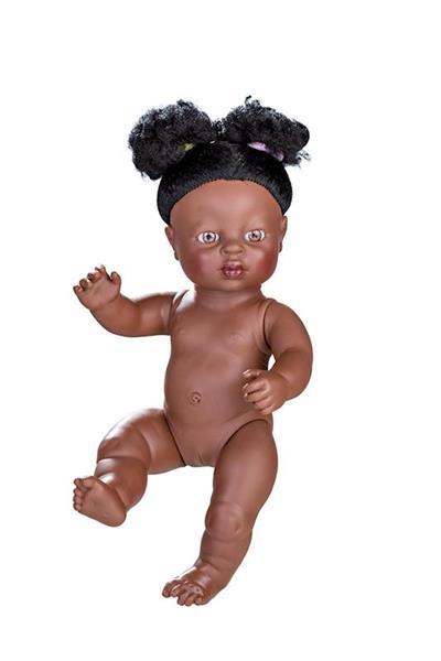 Imagen de Muñeca Newborn Africana Desnuda 38 Cm