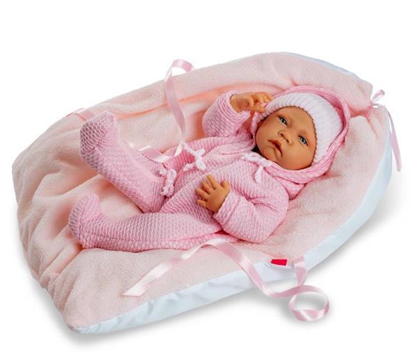 Imagen de Muñeco Newborn Special Pijama Rosa