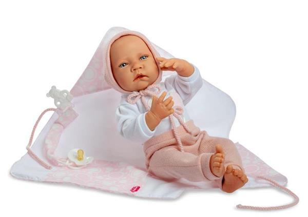 Imagen de Muñeca Newborn Special Toquilla Rosa