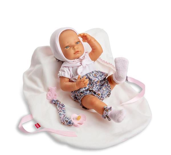 Imagen de Muñeca Newborn Special Pantalón Flores