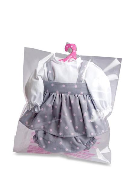 Imagen de Vestido 45 cm Baby Sweet Lunares