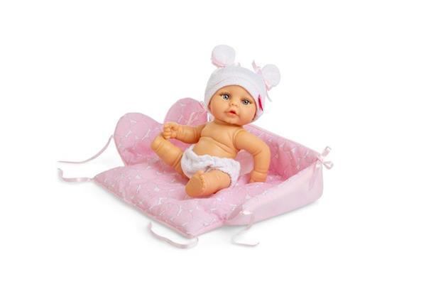 Imagen de Mini Baby con cesta Cambiador en Bolsa Niña