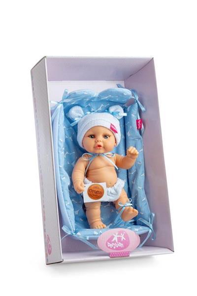 Imagen de Muñeco Mini Baby con Cesta Cambiador en Caja
