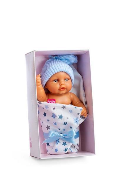 Imagen de Muñeco Mini Baby con Saquito en Caja