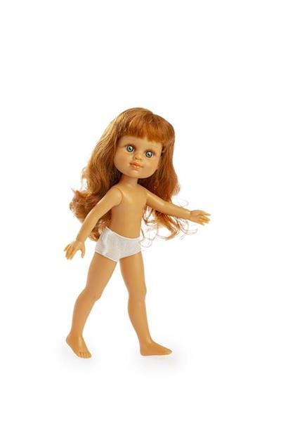 Imagen de Muñeca My Girl Pelirroja Desnuda En Bolsa