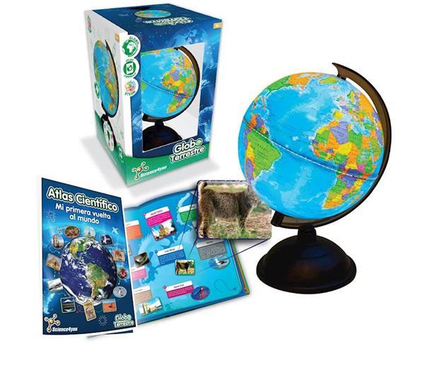 Imagen de Esfera Terrestre con Atlas Mundial