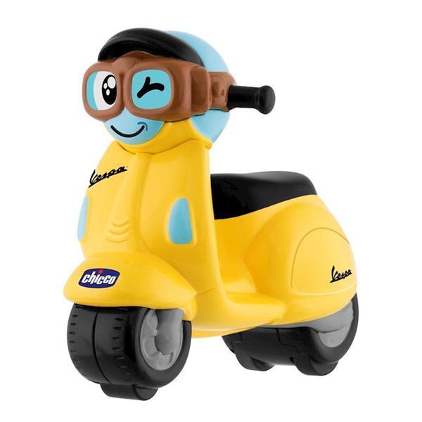 Imagen de Vespa Amarilla Mini Turbo Touch
